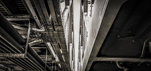 Ảnh lưu trữ miễn phí về cầu kim loại, chi tiết kiến trúc, hình nền, Hình nền 4k