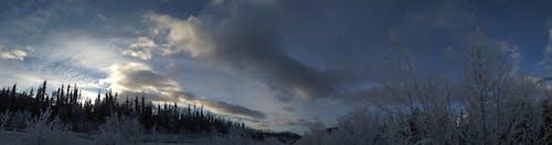 Gratis lagerfoto af bjerg, forkølelse, himmel, is