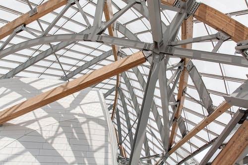 Foto stok gratis Arsitektur, bayangan, gabungan, kayu
