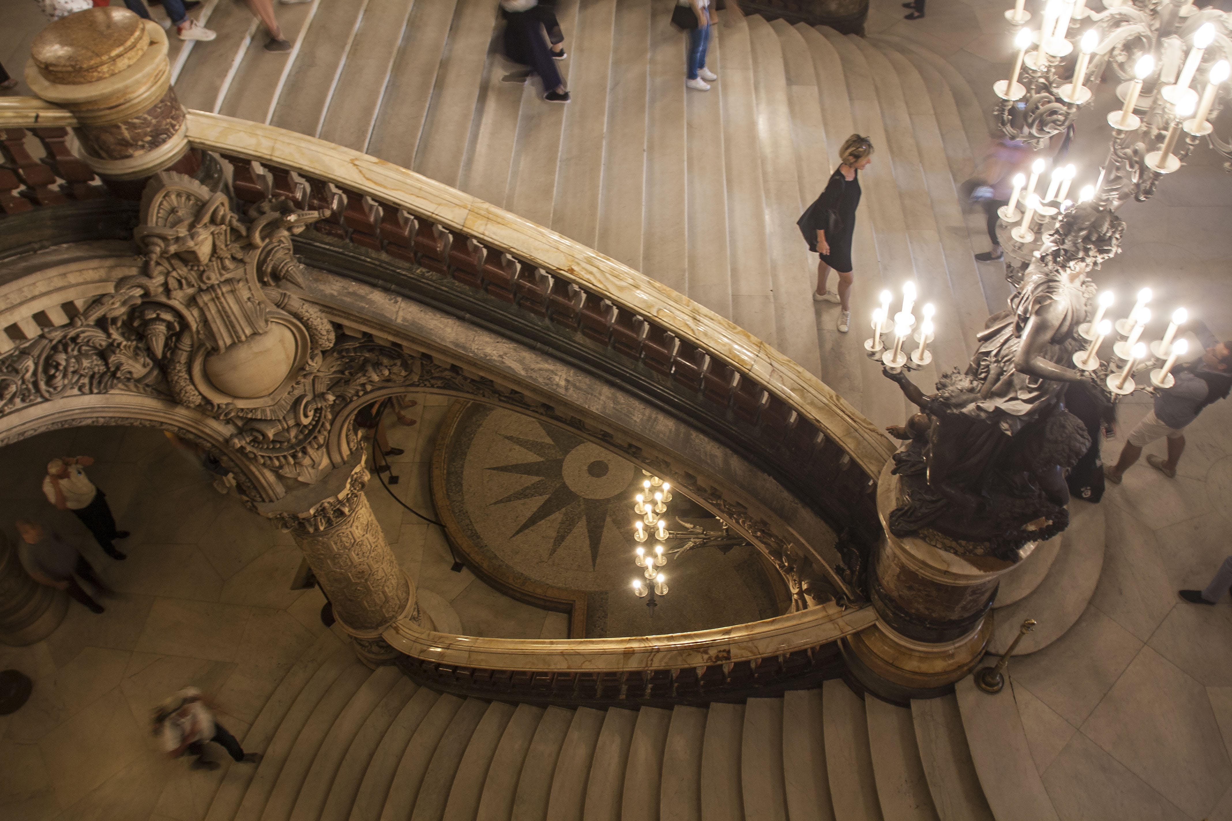 Free stock photo of architecture, Barroque, Candlelights, opera garnier
