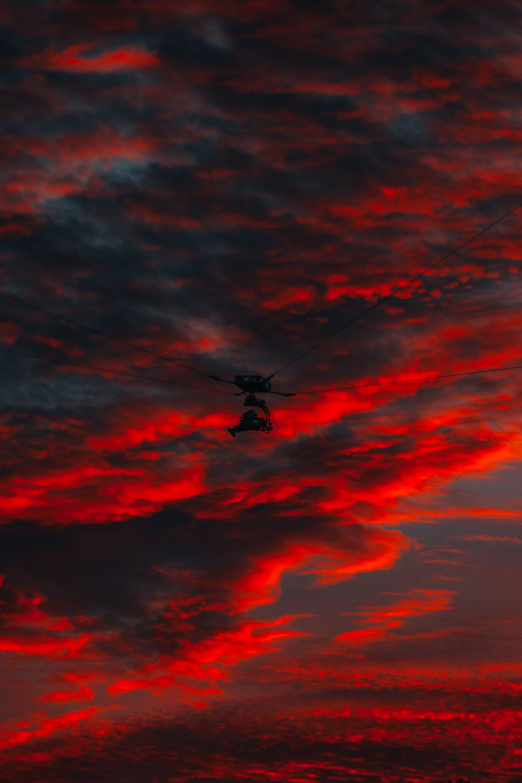 Free stock photo of clouds, colors, dark, dark clouds