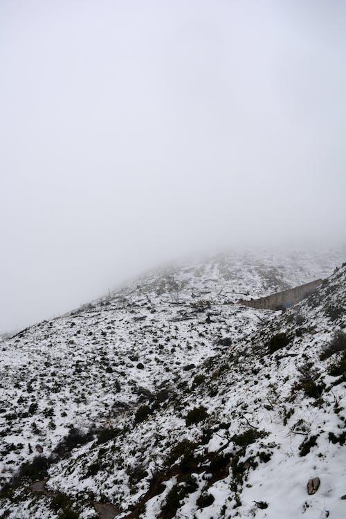 Δωρεάν στοκ φωτογραφιών με ασπρόμαυρο, βουνό, γραφικός, εποχή