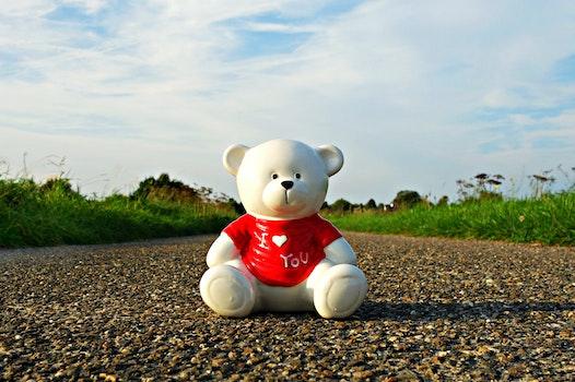 Free stock photo of road, love, heart, rocks