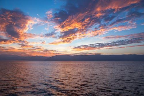 คลังภาพถ่ายฟรี ของ skyscape, กลางแจ้ง, ชายหาด, ตะวันลับฟ้า