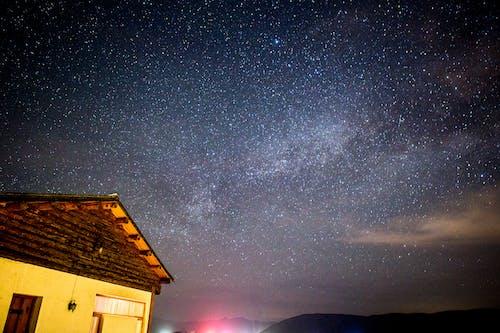 天空, 星星, 晚上 的 免費圖庫相片