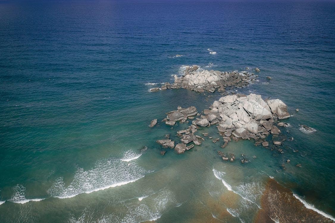 Rocky Shore and Beach