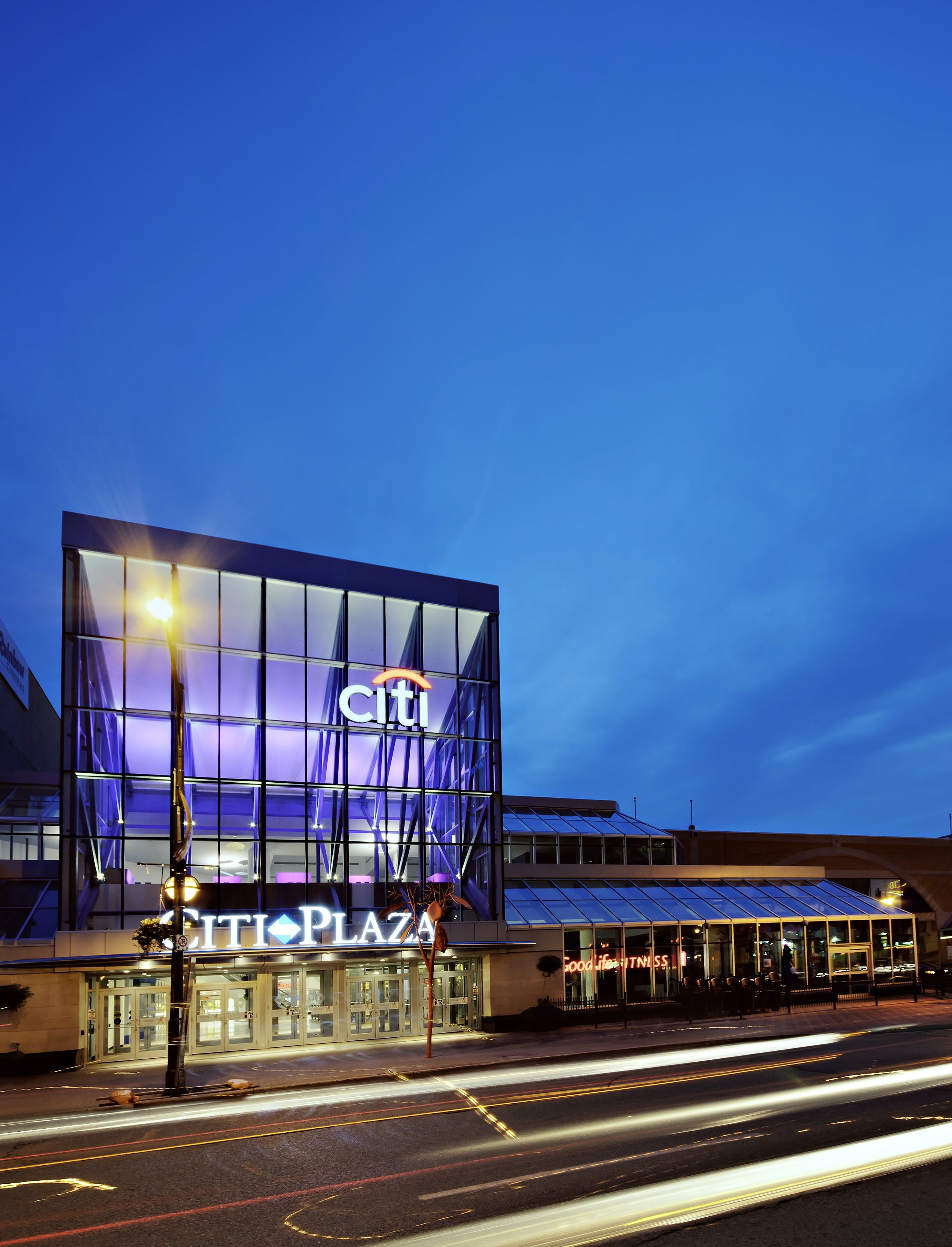 Citi Plaza during Nighttime