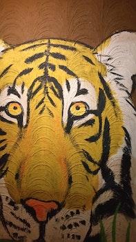 Free stock photo of art, animal, painting, design