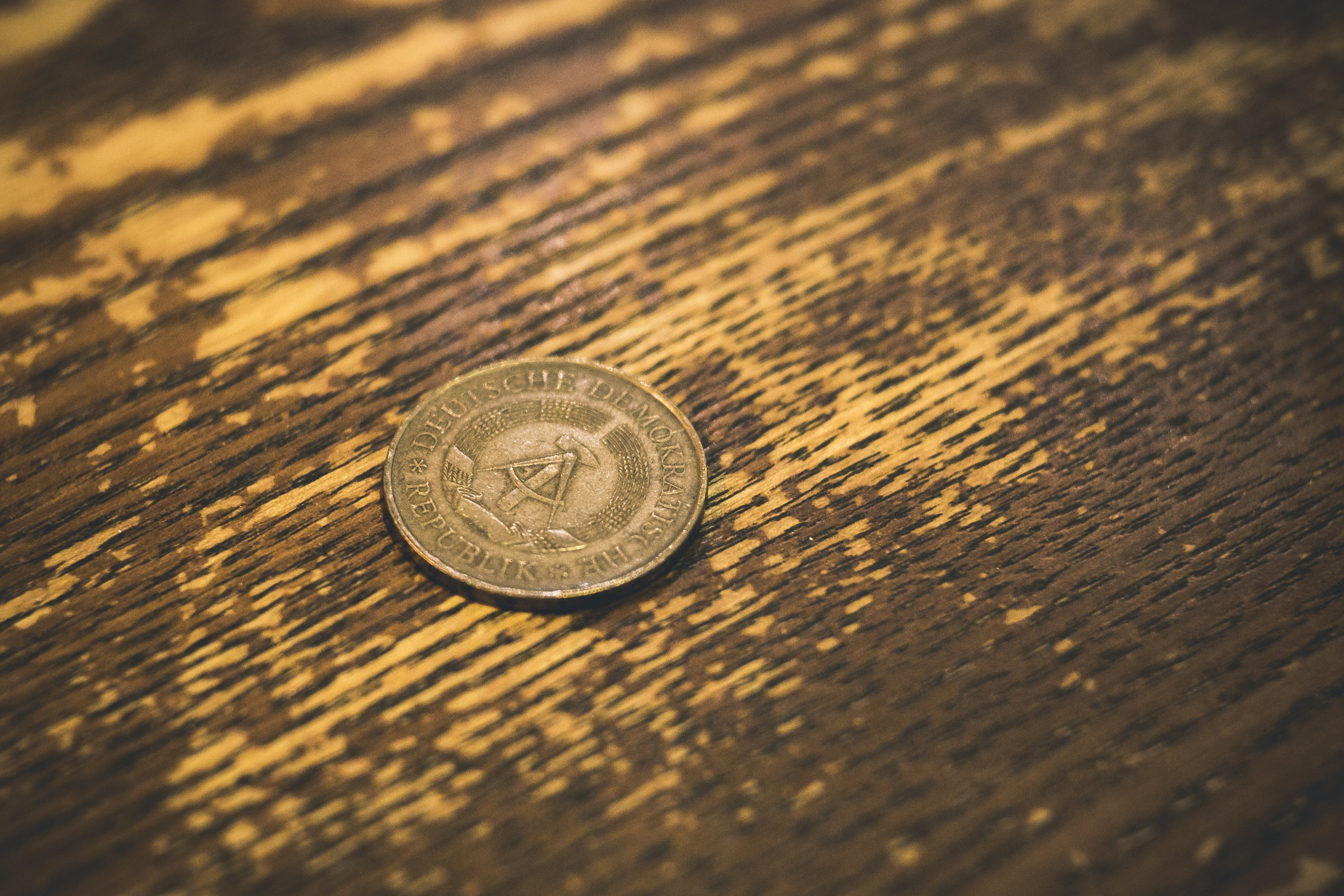 Free stock photo of antique, coin, metal, vintage