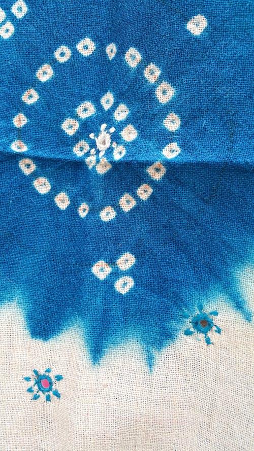 インド, ドレス素材, ネクタイ染料, ハンドクラフトの無料の写真素材