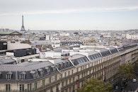 city, eiffel tower, paris