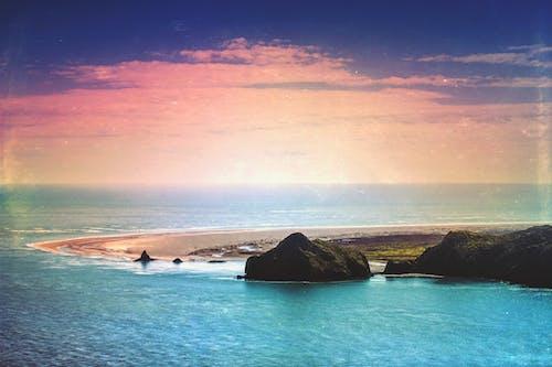 Imagine de stoc gratuită din apă, coastă, faleză, idilic