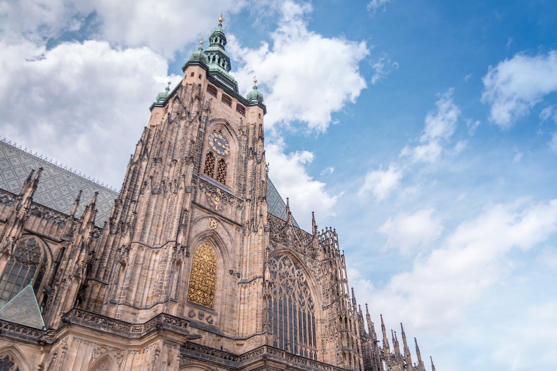 低角度拍攝, 哥德式, 大教堂