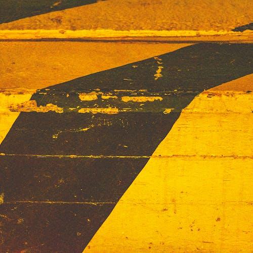Foto profissional grátis de alerta, amarelo, bloco, blocos de concreto