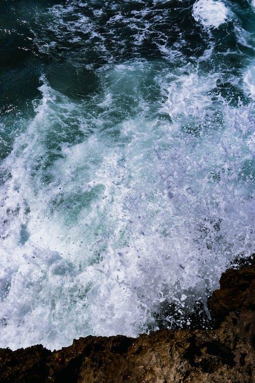 Základová fotografie zdarma na téma moře, mořská pěna, oceán, pobřeží