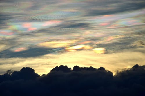 가벼운, 검은 구름, 구름, 다채로운의 무료 스톡 사진