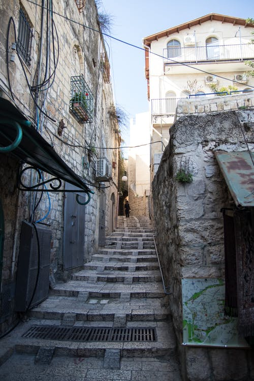 Gray Narrow Alley