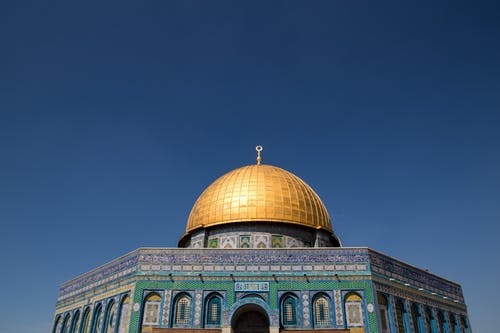 Darmowe zdjęcie z galerii z architektura, architektura islamska, błękitne niebo, budynek