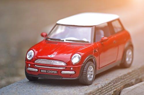 Foto stok gratis kendaraan, mainan miniatur, Mini Cooper, mobil