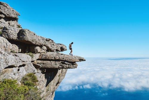 Kostenloses Stock Foto zu berg, felsen, felswand, himmel