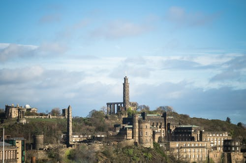 Free stock photo of carlton hill, edinburgh, monument