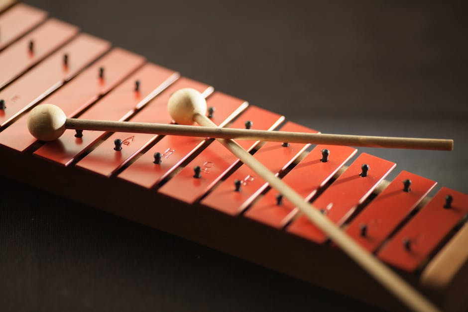 Shallow Focus Photography of Red Xylophone · Free Stock Photo