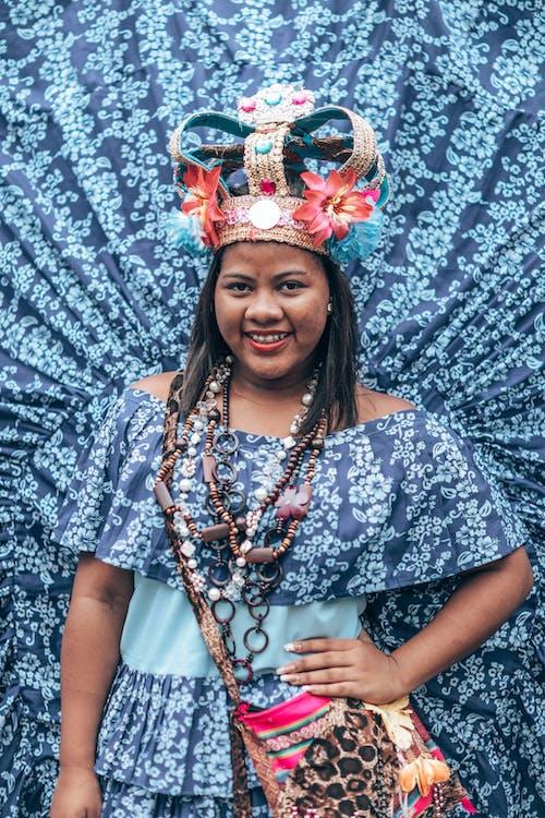 亞洲女性, 傳統服飾, 女人, 擺姿勢 的 免費圖庫相片