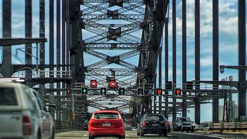 Kostenloses Stock Foto zu hafenbrücke