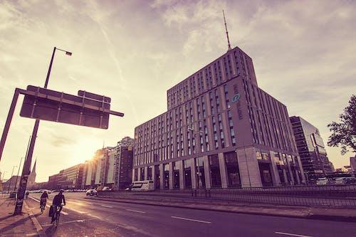 Gratis stockfoto met berlijn, fiets, hemel, plaats