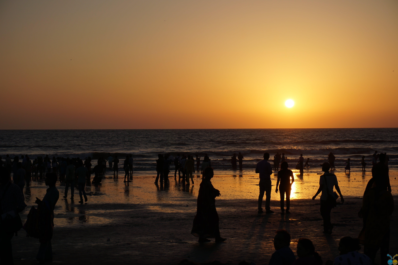 Foto profissional grátis de água, alvorecer, areia, baía
