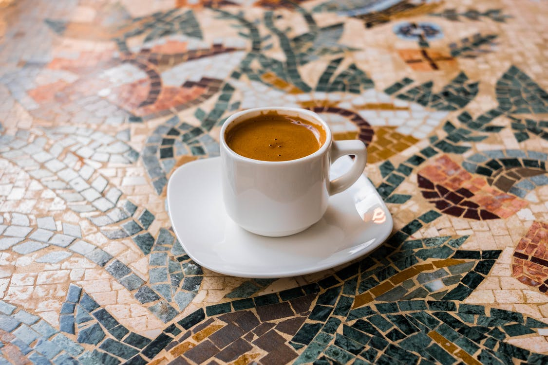 cappuccino, drikke, espresso