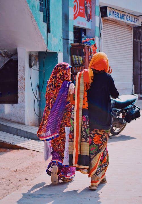 คลังภาพถ่ายฟรี ของ ถนน, ผ้าคลุมหน้า, ผู้คน, ศาสนา