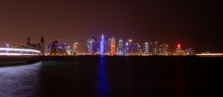 Free stock photo of arabian, city lights, night