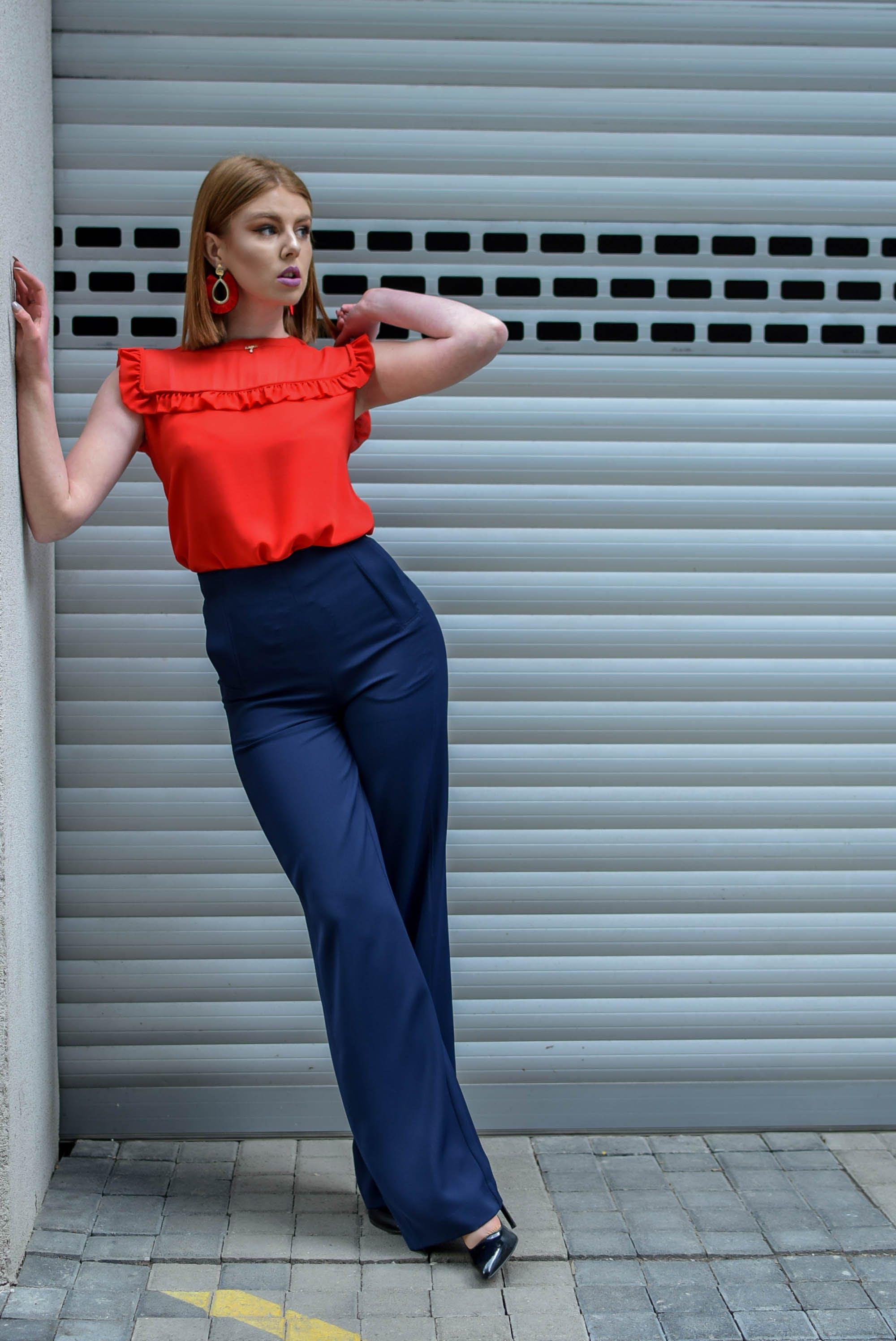 Women's Orange Top
