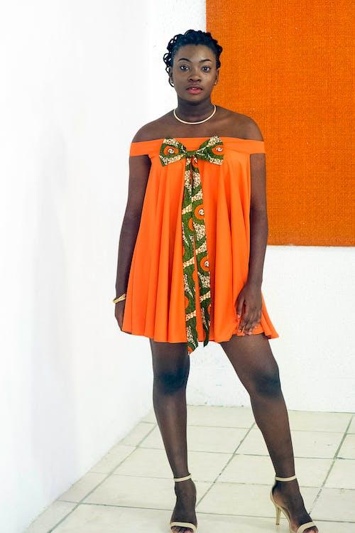 Imagine de stoc gratuită din african wear rochie, drăguț, elegant, femeie