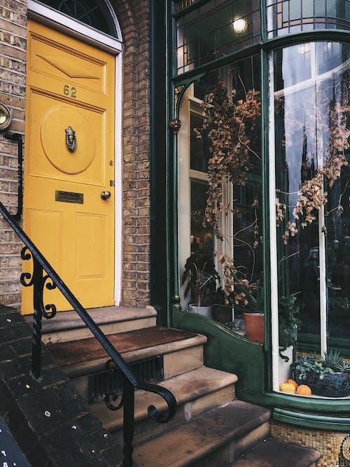 Fotobanka sbezplatnými fotkami na tému architektúra, budova, dvere, kroky
