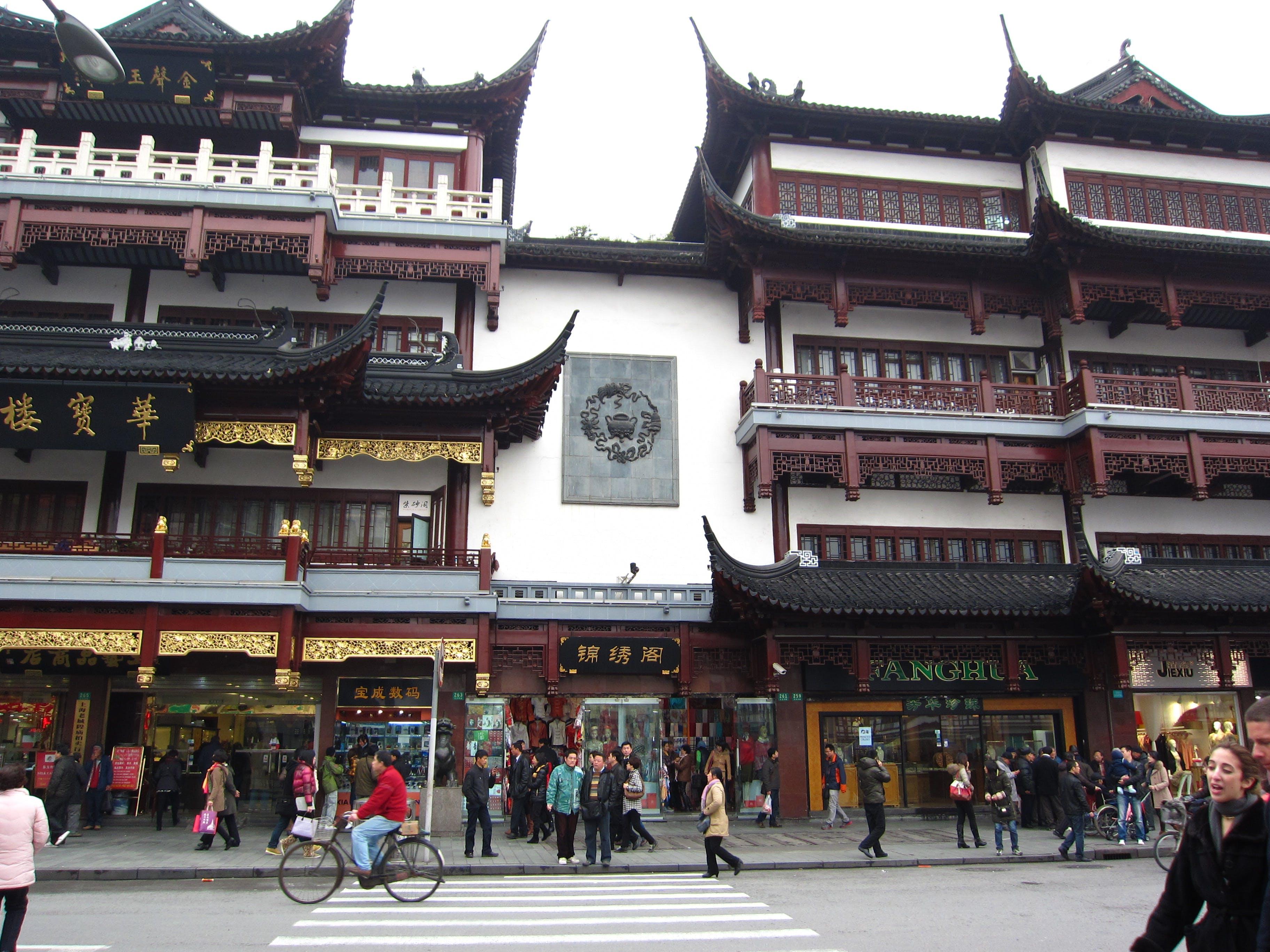 Çin, dianasilaraja, eski şanghay, shanghai içeren Ücretsiz stok fotoğraf