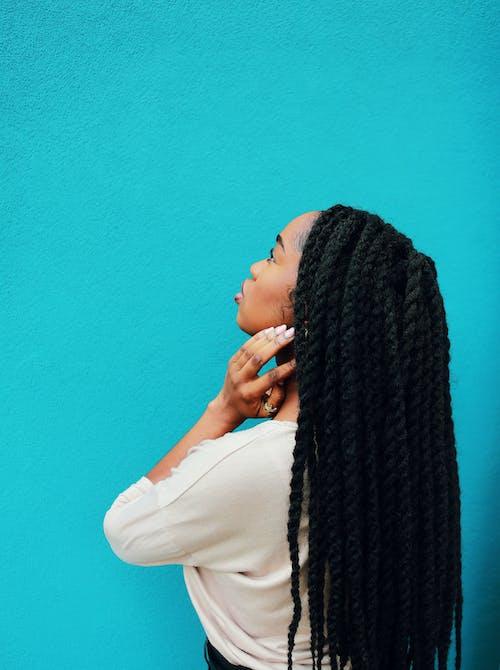 Foto d'estoc gratuïta de cabell, cabells, dona, dona de raça negra