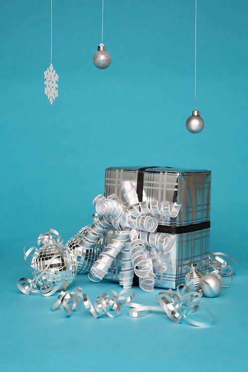 Gray and Black Gift Box