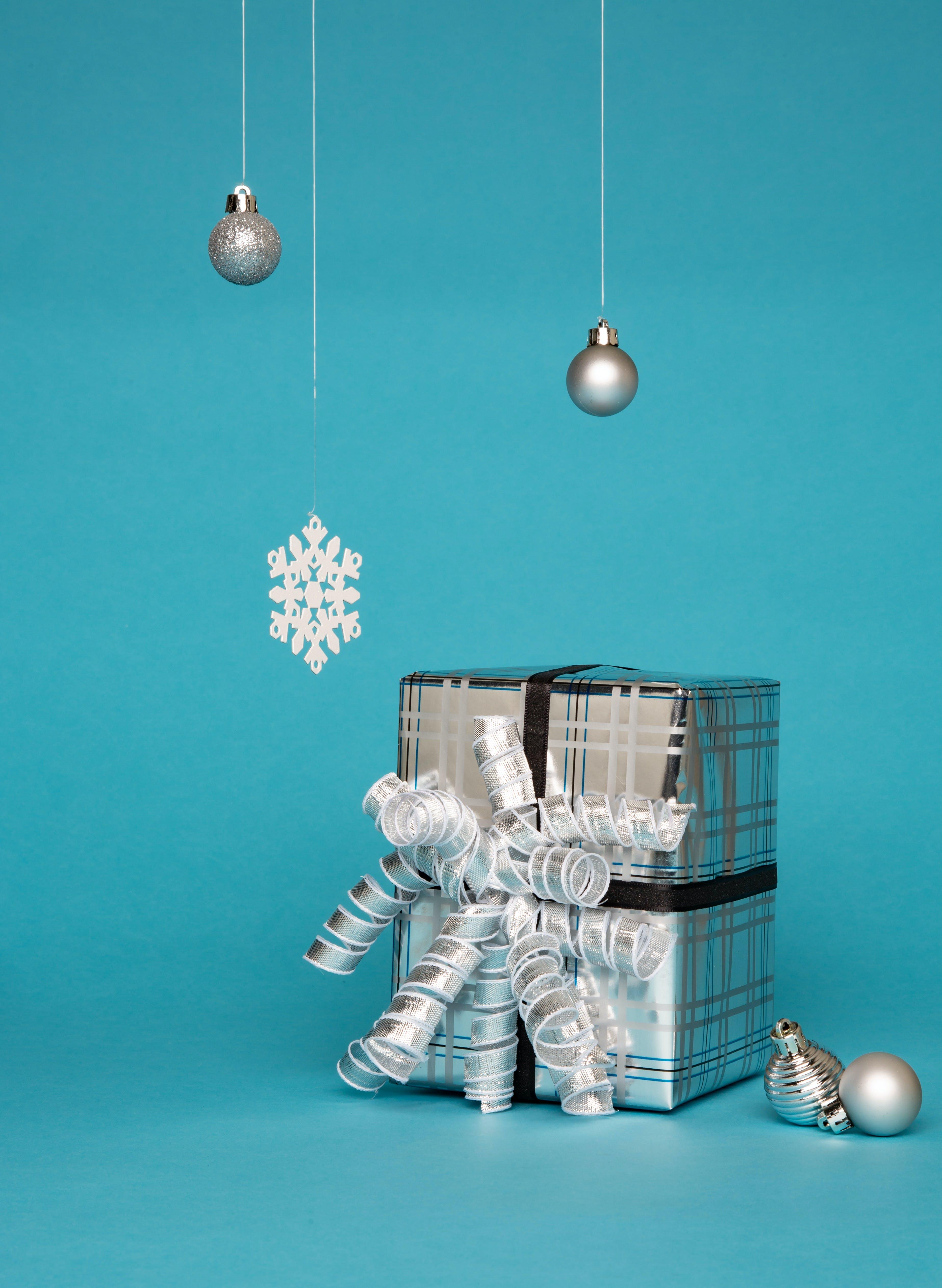 Gray Gift Box