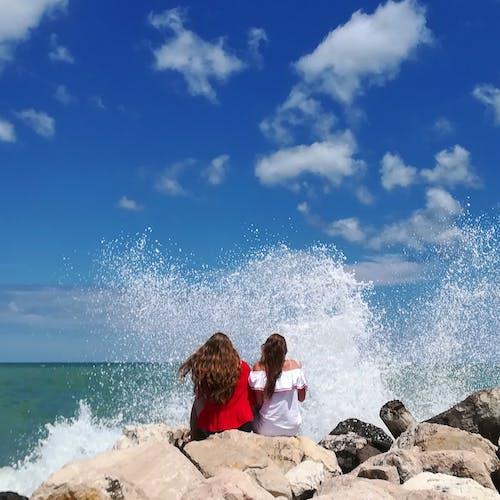 Fotos de stock gratuitas de dice adiós, ola rompiendo, olas rompiendo