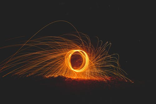 Steel Wool of Fire Cracker