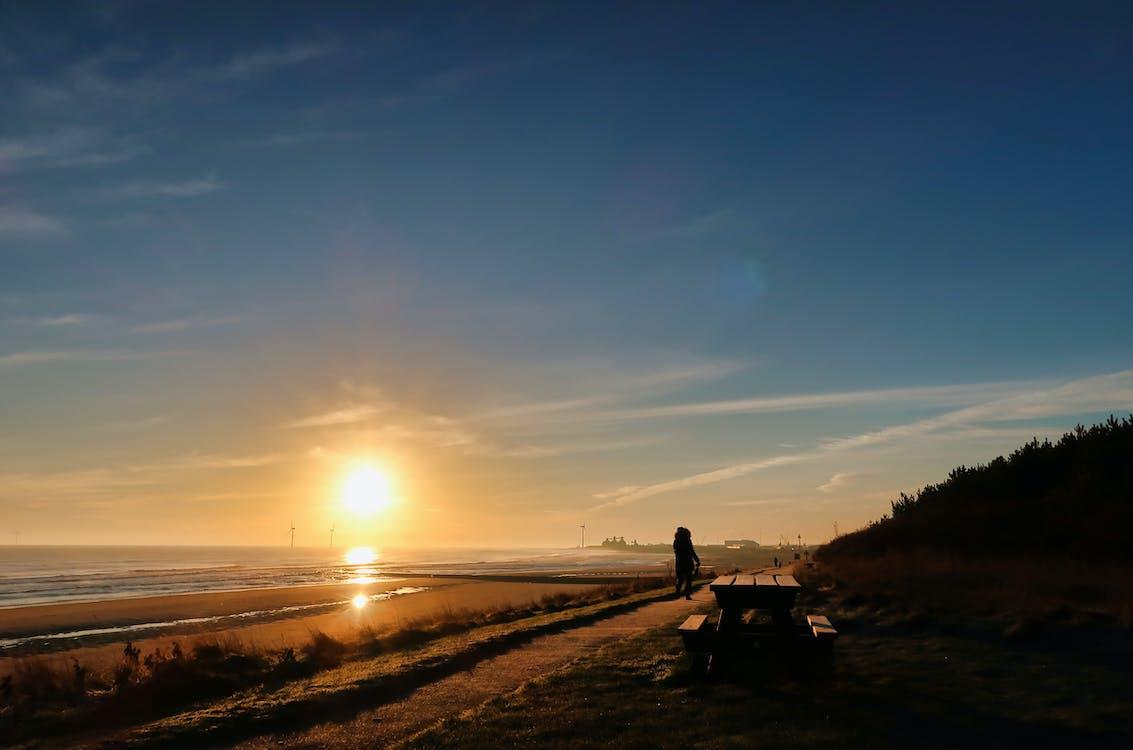 ゴールデン, ノーサンバーランド, ビーチ