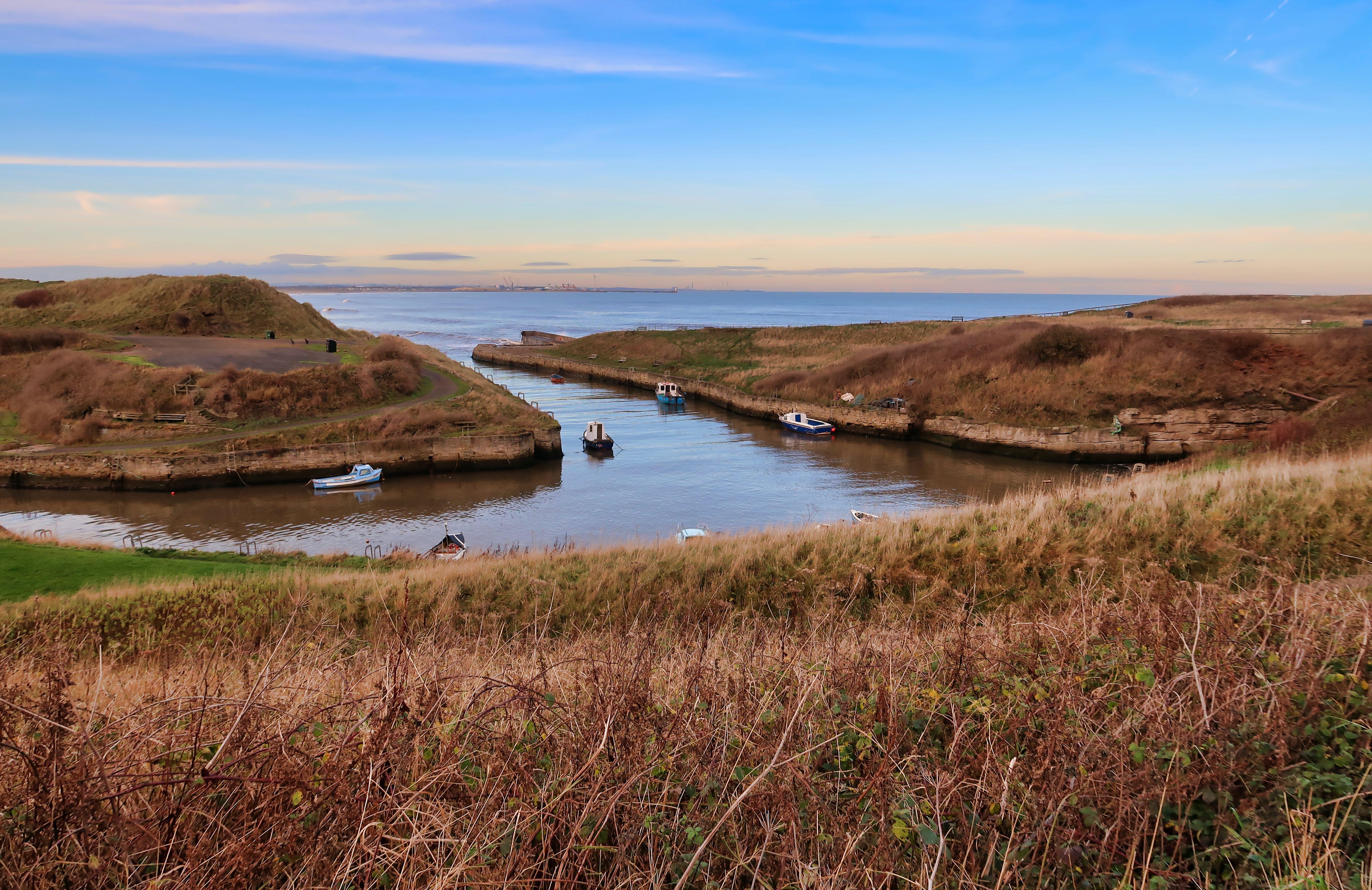 Boats on Ocean Water