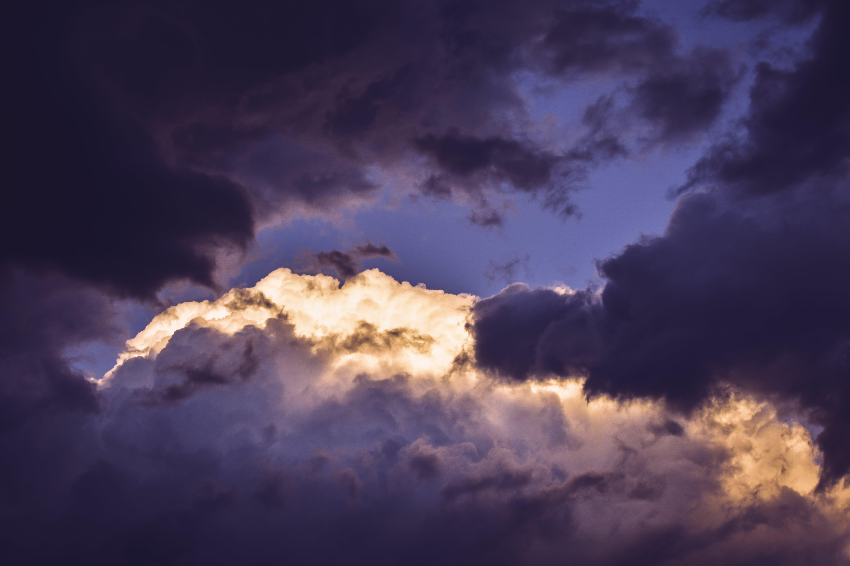 Foto stok gratis alam, awan, awan gelap, berawan