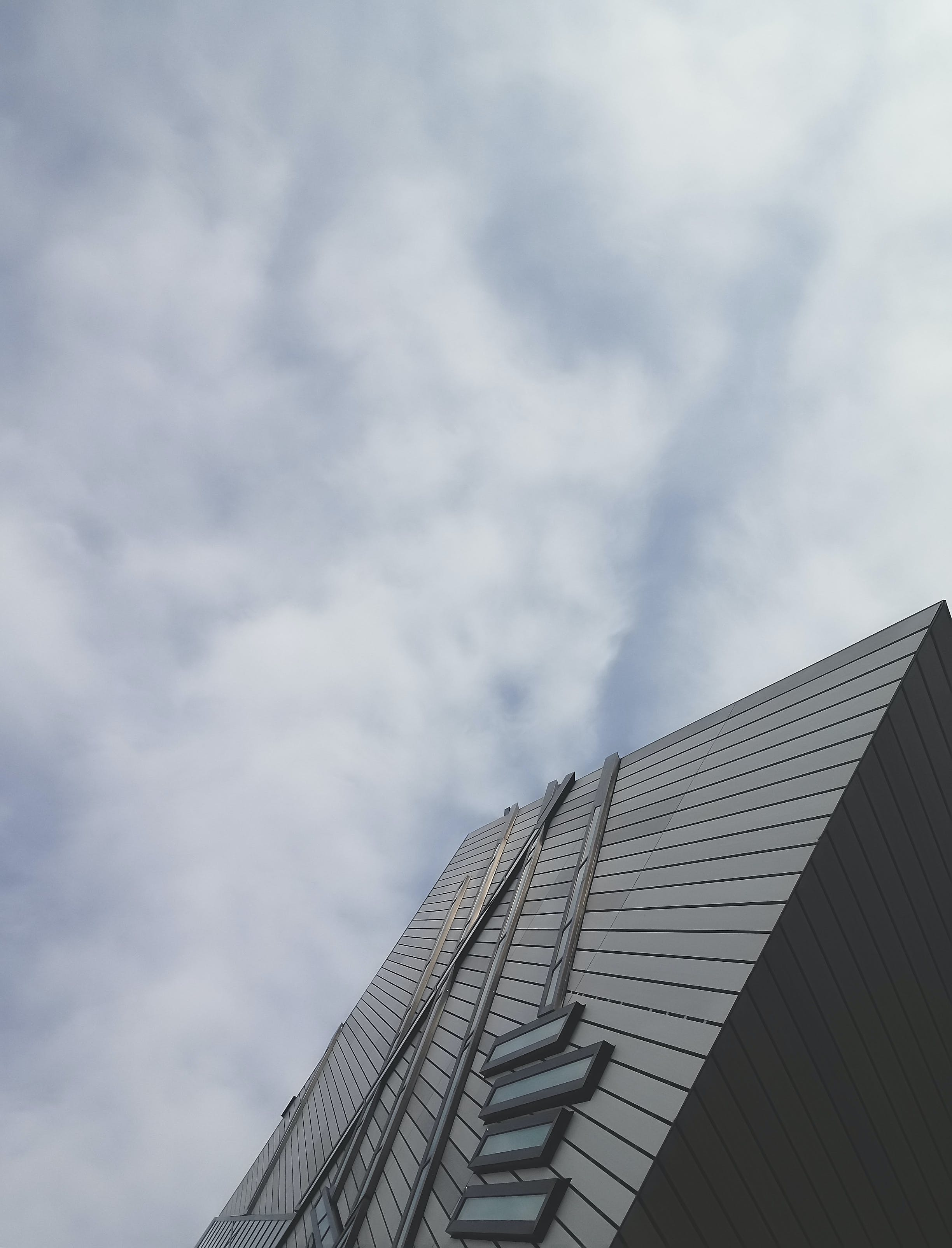 Low Angle Shot of Modern Building