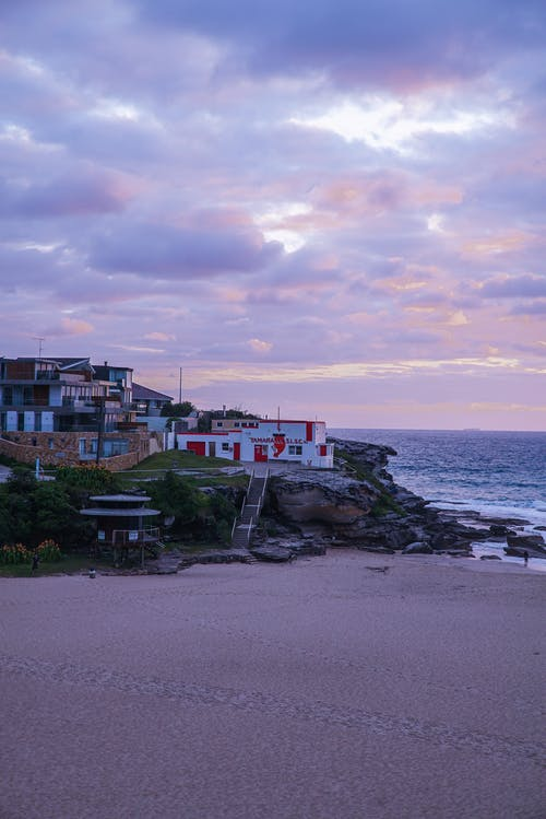 คลังภาพถ่ายฟรี ของ กลางแจ้ง, ชายฝั่งทะเล, ชายหาด, ตึก