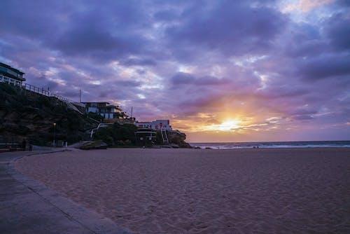 Δωρεάν στοκ φωτογραφιών με ακτή, άμμος, απόγευμα, γραφικός