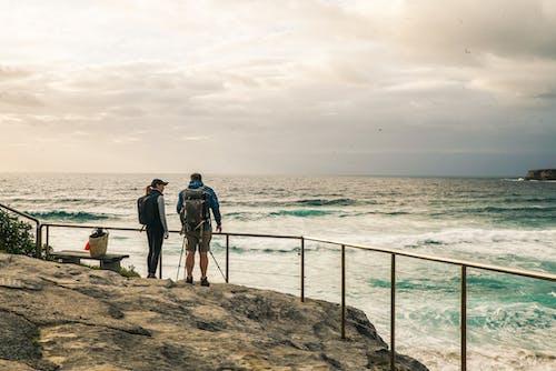 Kostnadsfri bild av backpacker, dagsljus, fritid, hav
