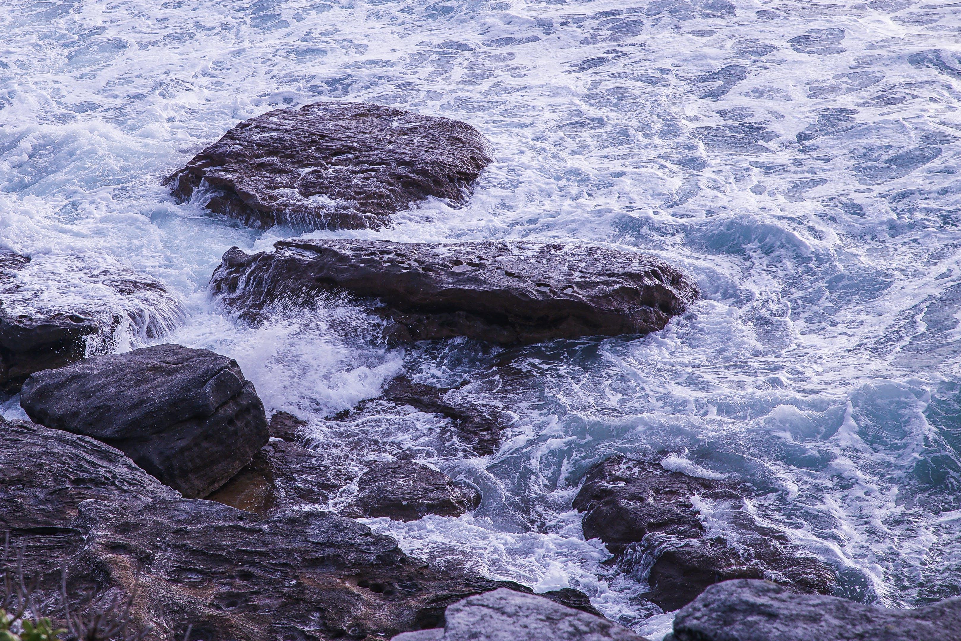 Photo of Waves Crashing On Waves